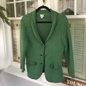 Quirky Green Sweater